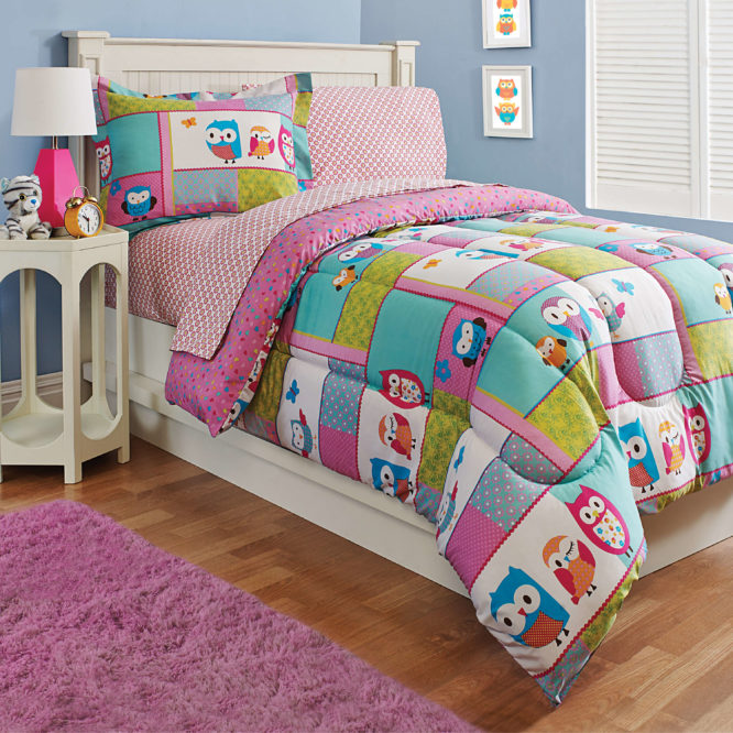Owl Sheet Set Comforter Set