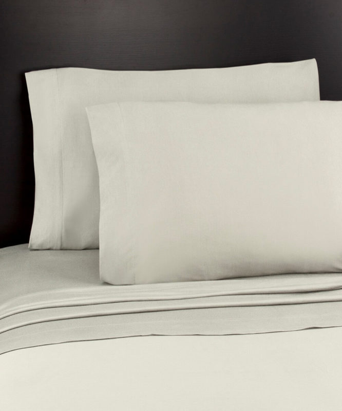 Soft Tees Jersey Knit Sheet Set Cream Color
