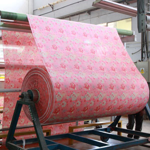 Processing at Royale Linens Factory